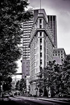 The old neighborhood. The original Flatiron Building (in Atlanta) completed 5 years before NYC's.