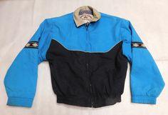 Western Frontier Aqua Black Southwest Womens Full-Zip Lined Jacket - Size M #WesternFrontier #BaseballJacket #Outdoor