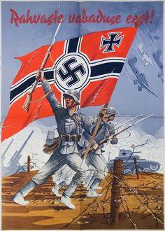 "tkohl: "" Estonian Nazi propaganda poster """