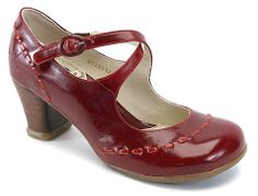 Fluevog Malibrans -- you know my soft spot for red mary janes and you take it to another level.