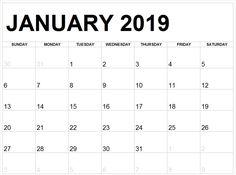 2019 January Calendar Print #january #january2019 #january2019calendarcanada #Januarycalendar January Calendar, 2019 Calendar, Printable Calendar Template, Print Calendar, Printables, Birthday, Birthdays, Calender Print, Print Templates