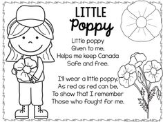 Use these kid-friendly activities to talk about Remembrance Day and to encourage your elementary students to show their Canadian pride! Remembrance Day Poems, Remembrance Day Activities, Veterans Day Activities, Learning Activities, Activities For Kids, Kindergarten Songs, Preschool Songs, Kids Songs, Poppy Craft For Kids