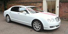 Hire a dashing and posh Bently wedding car... cabotprestige.com