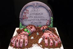 Zombie Hands out of Grave by marksl110, via Flickr
