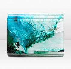 its a clutch! ridiculously cool! and its also jimmy choo..so i will never have