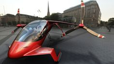 An ambitious aircraft concept combines the speed of a plane, the agility of a helicopter and the efficiency of a hybrid car