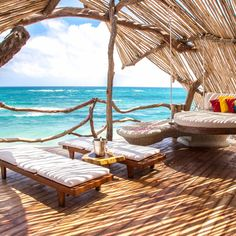 Azulik Tulum, Mexico leisure property swimming pool Resort watercraft Villa cottage sailing vessel shore Boat