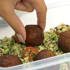 Middle Eastern-style Vegan Lunchbox