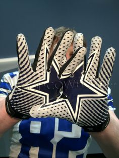 Nike Dallas Cowboys player gloves. Available this fall. #witten