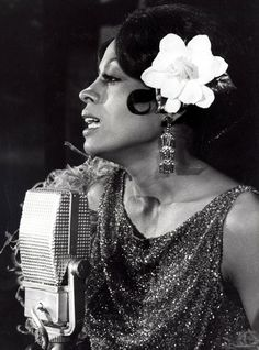 Diana Ross as Billie Holiday in Lady Sings the Blues, 1972