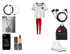 """music is the answer"" by bvby-bre ❤ liked on Polyvore featuring WearAll, Converse, Chiara Ferragni, Sennheiser, Casetify and Lokai"