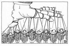 Who controls the media? Today's cartoon by Alfredo Garzon.
