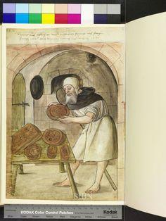 1520 gingerbread maker  Die Hausbücher der Nürnberger Zwölfbrüderstiftungen
