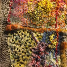 When #words fail When words confound When words cannot be remembered #stitching #heals #beatrizhelton #instinctualstitching