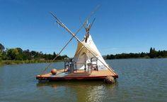 "Sweet little ""houseboat""!"