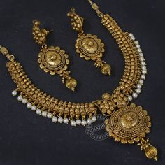 The RISHA NECKLACE + EARRINGS  by Indiatrend. Shop Now at WWW.INDIATRENDSHOP.COM