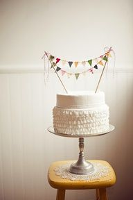 multi colored ruffle cake - Google Search