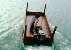 De mesa... a barca fueraborda.