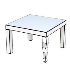 Cartoon Style Side Table from notonthehighstreet.com