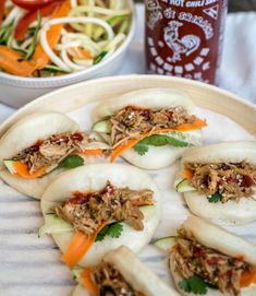 Chinese Pulled Pork Steamed Buns (Follow the Ruels)