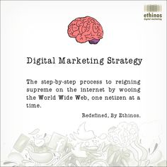 Simple and Fun Definition of Digital Marketing Strategy.