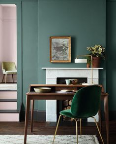 """310 Likes, 5 Comments - Image Interiors & Living (@image_interiors) on Instagram: """"We're all about the warming greens lately, maybe because that autumn chill is beginning to creep…"""""""