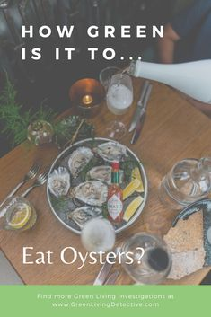 Once suffering from severe over-harvesting, oysters are bouncing back. Besides being tasty, oysters are actually good for you. But what is their impact on the environment? And is there a difference between wild and commercially farmed oysters? Follow the link to find out the truth about oysters! >>>> #oysters #shellfish #sustainablefood #saveouroceans #oceanlife #food #sustainability #healthyeating #partyfood #greenliving Sustainable Food, Sustainable Living, Peanut Butter Jar, Raw Oysters, Green Companies, Save Our Oceans, Green Products, Fancy Words, Migratory Birds