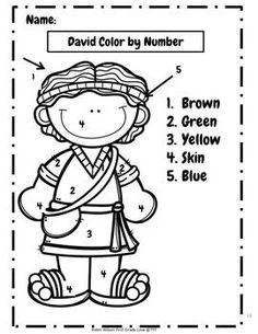 David was a hero of the bible. He is an example of our faith and a great character to teach to primary children. You will find highlights of his life in this packet, David Anointed as King, David Played his Harp, David and Goliath. Bible Story Crafts, Bible Crafts For Kids, Preschool Bible, Bible Activities, Bible Stories, Kids Sunday School Lessons, Sunday School Activities, Sunday School Crafts, David Et Goliath