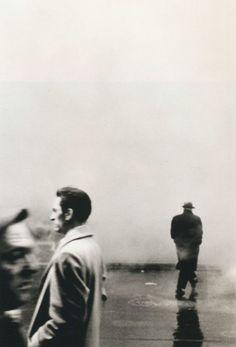 mpdrolet:    Three Men, New York, 1961  Steve Schapiro