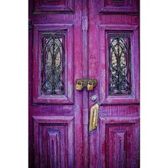Doors, Beautiful Doors ❤ liked on Polyvore featuring backgrounds, purple, pictures, doors and photos