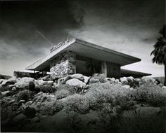WILLIAM AND MARJORIE EDRIS HOUSE - PALM SPRINGS.  Designed in 1953  This house has been beautifully restored.