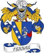 De Ferraz Spanish Coat Of Arms www.4crests.com #coatofarms #familycrest #familycrests #coatsofarms #heraldry #family #genealogy #familyreunion #names #history #medieval #codeofarms #familyshield #shield #crest #clan #badge #tattoo #crests #reunion #surname #genealogy #spain #spanish #shield #code #coat #of #arms