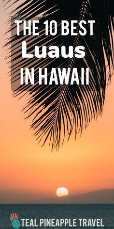 What is the best luau in Hawaii? The 10 best luaus in Hawaii. Hawaii Travel Deals, Hawaii Vacation Tips, Hawaii Honeymoon, Maui Luau, Kauai, Hilton Hawaiian Village Waikiki, Hawaiian Luau, Best Hawaiian Island, Old Lahaina Luau