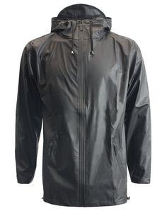 Rains DK Breaker Jacket Black