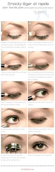 naked makeup palette looks Make Up Tutorials, Best Makeup Palettes, Makeup Tips, Eye Makeup, Make Up Tutorial Contouring, Beginner Eyeshadow, Smoky Eyes, Simple Makeup, Beauty Make Up