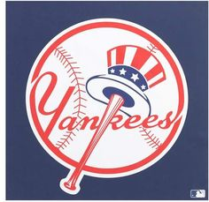 Make sure everyone who enters your office or home knows you're a New York Yankees devotee by hanging this x Logo Wall Poster on the wall! Show off your passion for the New York Yankees with the help of this poster's high quality graphics. Yankees Baby, Yankees Logo, New York Yankees Baseball, Yankees Team, Yankee Stadium, Mlb Teams, Sports Teams, Baseball Teams, Baseball Flag