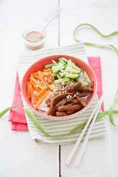 Bo bun vegan ! - 100 % Végétal | Cuisine vegan