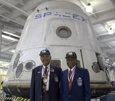 SpaceX was honored to welcome Levi Thornhill and Buford Johnson, two of the legendary Tuskegee Airmen.