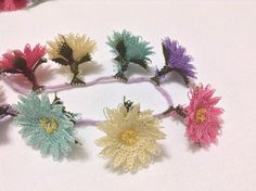 Needle Lace, Lace Making, Beaded Flowers, Diy And Crafts, Jewelery, Elsa, Embroidery, Beads, Pattern