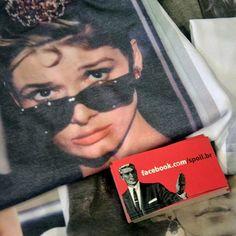 vem cá www.spoil.com.br ❤️ #audrey #audreyhepburn #wtf #shop #online #tee #tshirt