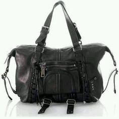 L.A.M.B Gwen Stefani laced up Vivien satchel