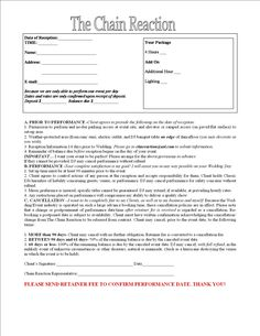 Entertainment Contract Agreement images - d j contracts | Real ...