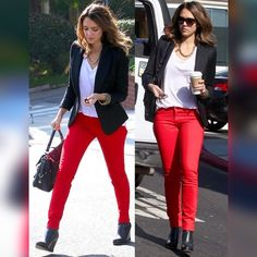 """KATE SPADE   Red Broome Street Jeans Celebrity must-have jeans!!  Jessica Alba and Pippa Middleton love these super stylish, comfortable Kate Spade jeans.  Scream confidence in these red bad boys! ❤️ 98% Cotton 2% Spandex, 27.5"""" Inseam kate spade Jeans Straight Leg"""