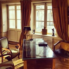 Réception de l'hôtel tardif #bayeux