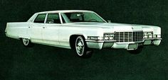 All-new styling inspired by the Eldorado greeted 1969 Cadillac Fleetwood Brougham customers
