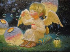 Good night sister and all,have a peaceful sleep,God bless xxx❤❤❤✨✨✨🌙 Victor Nizovtsev, Angel Drawing, Illustration Art, Illustrations, Angel Pictures, Angel Cards, Guardian Angels, Cute Art, Fantasy Art