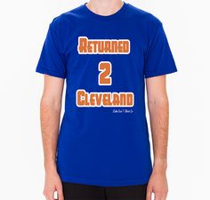 Throwback Return 2 Cleveland shirt ~ gift for daughter Cleveland Cavaliers basketball fan, Super comfy valentine's day gift for girlfriend
