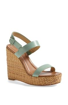 kate spade new york 'dancer' wedge sandal available at #Nordstrom