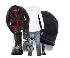 """easyRider"" by fashionknot15 ❤ liked on Polyvore featuring Under Armour, rag & bone, Merz b. Schwanen, Superdry, BKE, Rick Owens, William Rast, Tag Heuer, men's fashion and menswear"
