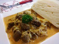 Pravý segedínsky guláš, tradičný RECEPT Pork, Beef, Recipes, Kale Stir Fry, Meat, Recipies, Ripped Recipes, Pork Chops, Cooking Recipes